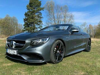 begagnad Mercedes S63 AMG A Benz AMGAMG 4-Matic Cab Swarowski 2016, Halvkombi 1 189 000 kr
