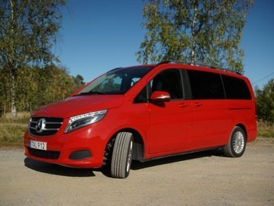 begagnad Mercedes V220 7-sits drag/navi -14