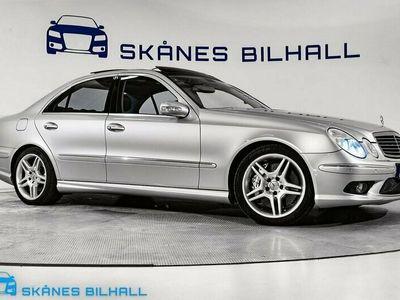 begagnad Mercedes E55 AMG AMG 5G-Tr 476hk Sv-såld Samlar-ex Designo