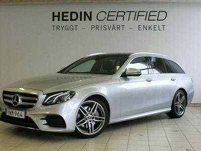 begagnad Mercedes E200 E-KLASSd Kombi AMG Paket / Vinter paket / Kombi paket 9G-Tronic Euro 6 150hk