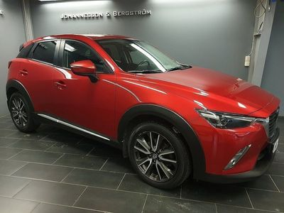 begagnad Mazda CX-3 Optimum 2.0 AWD AUT SKYACTIV-G 2016, SUV 169 900 kr