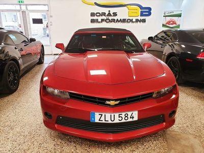 begagnad Chevrolet Camaro Cabriolet 3.6 V6 Automat 328hk