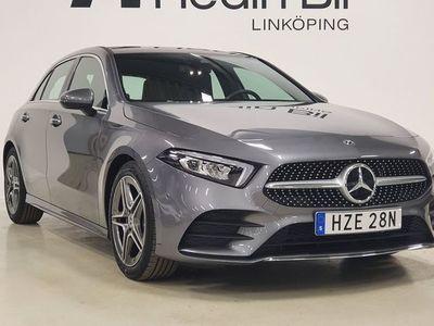 begagnad Mercedes A180 AMG-LINE PANORAMA NAVIGATION APPLE-CARPLAY