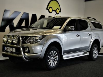 begagnad Mitsubishi L200 2.4 4WD Aut | Business | Kåpa | 181hk