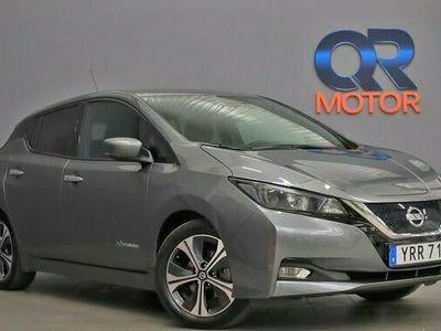 begagnad Nissan Leaf 40 kWh Navigation Backkamera 2019, Halvkombi Pris 229 800 kr