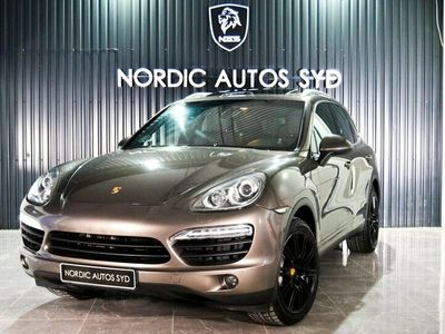 begagnad Porsche Cayenne S E-Hybrid TipTronic S 380hk Svensk Taklucka