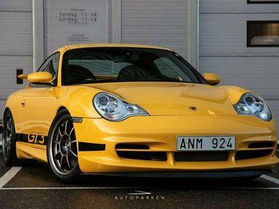 begagnad Porsche 911 GT3 911MK2 Speedgelb 381hk