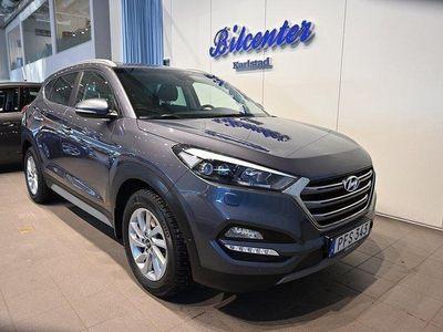 begagnad Hyundai Tucson 1.6 T-GDI 4WD Automat Euro 6 (
