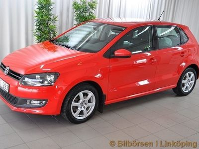 begagnad VW Polo 5-dörrar 1.4 Manuell. 86hk. 2012