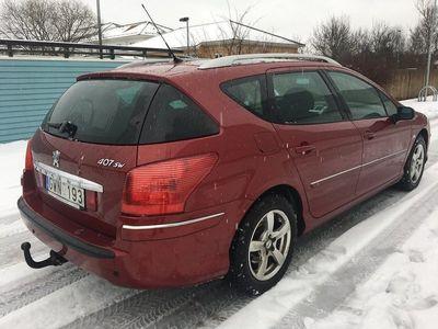 begagnad Peugeot 407 SW 1.6HDI PANORAMA DRAG 2-ÅRS GAR -08