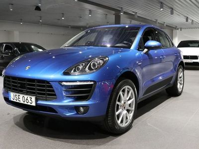 begagnad Porsche Macan S Nypris 853.100.-