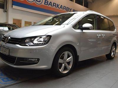 begagnad VW Sharan 2.0 TDI DSG Premium / Webasto / Nav / Krok