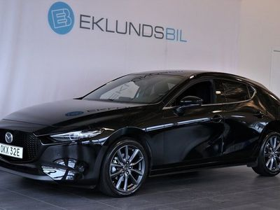begagnad Mazda 3 3Sky Tech BOSE Navi DEMO 2019, Halvkombi 209 800 kr