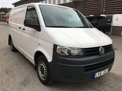 begagnad VW Transporter 2.0 TDI 102hk 3-sitsig Drag Skåp