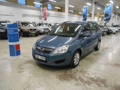 begagnad Opel Zafira 1.8 Ny Bes Ny Servad 7-sits 140hk