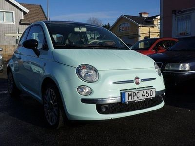 begagnad Fiat 500 1.2 Lounge Cult 69hk Panorama -15