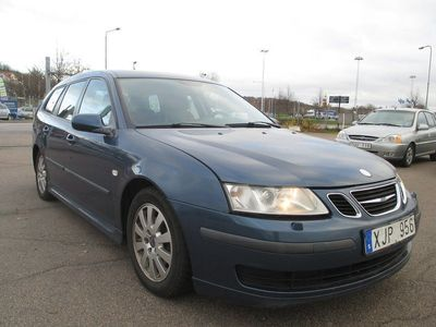 begagnad Saab 9-3 SportCombi 1.9 TiD Automat Vector 150hk 0% Ränta