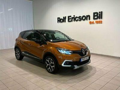 begagnad Renault Captur PhII Energy TCe 120 Intens EDC 2017, Halvkombi Pris 149 500 kr