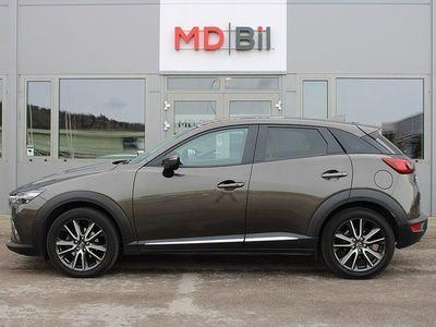 begagnad Mazda CX-3 AWD 150hk Aut Optimum Nyservad Navi Skinn 4629mil