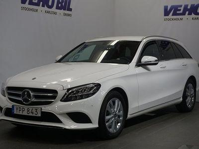 begagnad Mercedes C200 d Aut Värmare Kamera Dragkrok