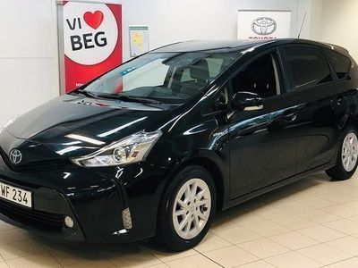 begagnad Toyota Prius Hybrid 1.8 Elhybrid Active 7-sits Vinterhjul 2018, Halvkombi 255 000 kr