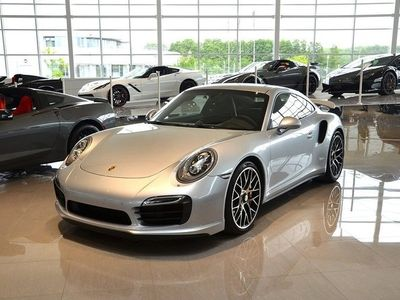 begagnad Porsche 911 Turbo S 991 / SPORT CHRONO / PADM / PASM / KERAMISKA