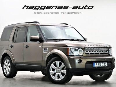 begagnad Land Rover Discovery SDV6 / 7-sits / Harman / Kardon / HSE