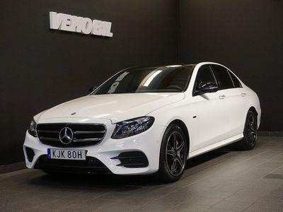 begagnad Mercedes E300 PLUG-IN 300de AMG Navi Panorama Drag 360-Kamera Apple Carplay
