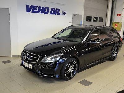 begagnad Mercedes E220 4MATIC, AMG, Edition E, Drag, V-hjul