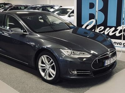 gebraucht Tesla Model S 85 kWh, Nybilsgaranti, Panorama -15
