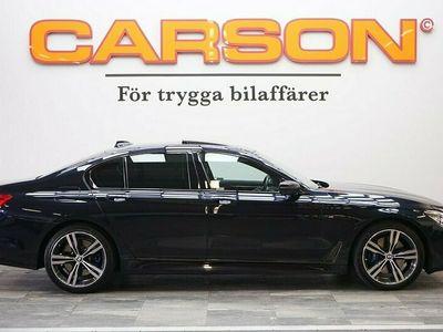 begagnad BMW 750 i xDrive 450HK xD Msport Navi Digitalt Mätarhus Hud SE UTR