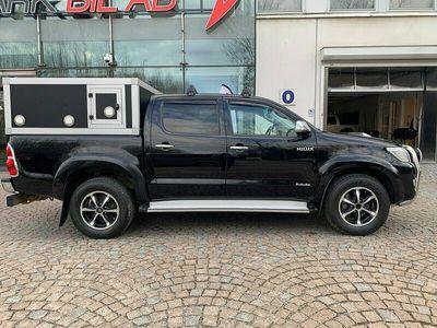 begagnad Toyota HiLux Dubbelhytt 3.0D-4D 4x4 Aut 171hk Hundkåpa Drag