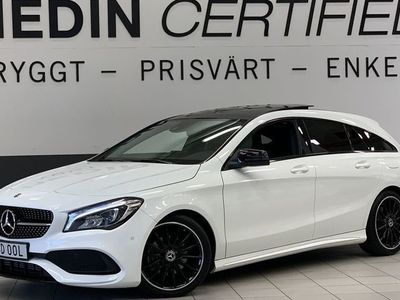 begagnad Mercedes CLA200 156Hk 7G-DCT SB AMG Panorama