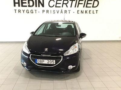 begagnad Peugeot 208 1.2VTI ACTIVE PANO NYSERVAD 5D