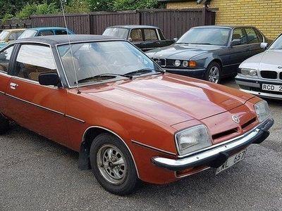 begagnad Opel Manta B Vinyltak drag 90hk