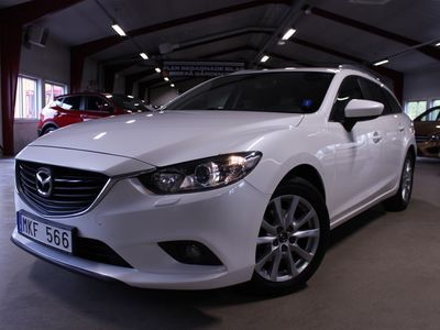 brugt Mazda 6 2,2 DE 150hk Kombi Core   Aut