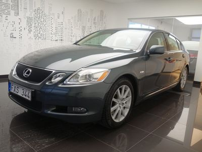 begagnad Lexus GS300 Comfort, Vinterhjul, Drag