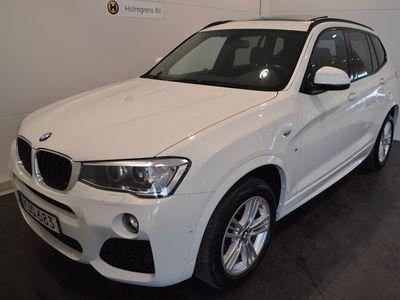 brugt BMW X3 xDrive20d M-Sport / Panorama (190hk)