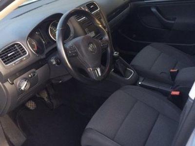 begagnad VW Golf Variant 105 hk Silver -12