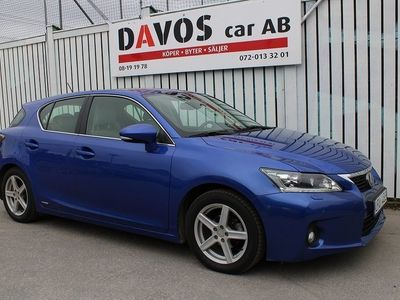 begagnad Lexus CT200h 1.8 CVT Luxury 136hk FULLUTRUST