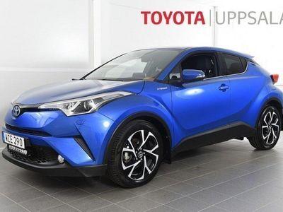 begagnad Toyota C-HR 1,8 Elhybrid X-edition Skinn JBL -18