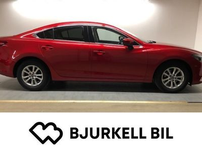 begagnad Mazda 6 2.5 Optimum 192 Hk, Automat, Off-Whi