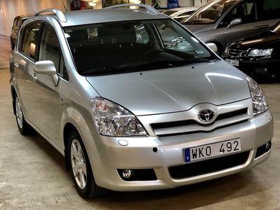 begagnad Toyota Corolla Verso 1,8i/ 1-ÄGARE/ 7-SITS/ VVT-i/ KEYLESS/ DRAGKROK