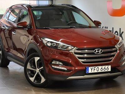 begagnad Hyundai Tucson Premium 2,0 D Automat 4WD 2017, Personbil 228 800 kr
