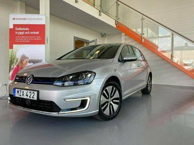begagnad VW e-Golf 24.2 kWh Navi Carplay 115hk MOMS