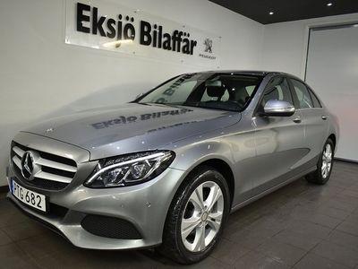 begagnad Mercedes 220 C-KLASSBlueTEC 170hk 7G-Tronic Plus *GPS,PDC,LED* Euro 6