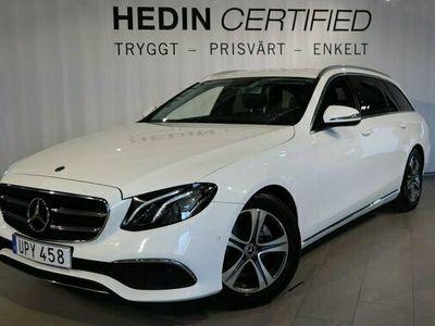 begagnad Mercedes E200 E BenzAvantgarde Navi, Drag, Widescreen 2018, Kombi Pris 314 900 kr