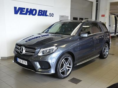 begagnad Mercedes 350 GLE Benz 4MATIC, 9G-Tronic, AMG, Panorama 2016, SUV 409 000 kr