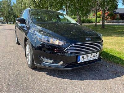 begagnad Ford Focus Kombi 1.0 EcoBoost SelectShift Euro 6 125hk