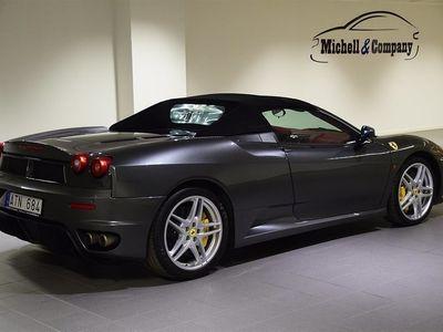 begagnad Ferrari F430 SPIDER F1 50th ANNIVERSARY SVENSK